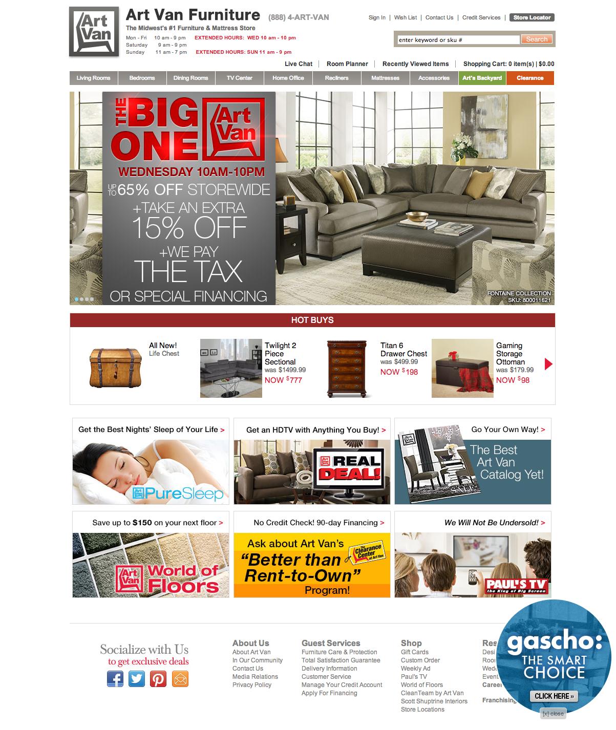 "Home Goods Websites: ""WebSphere Commerce Made"""