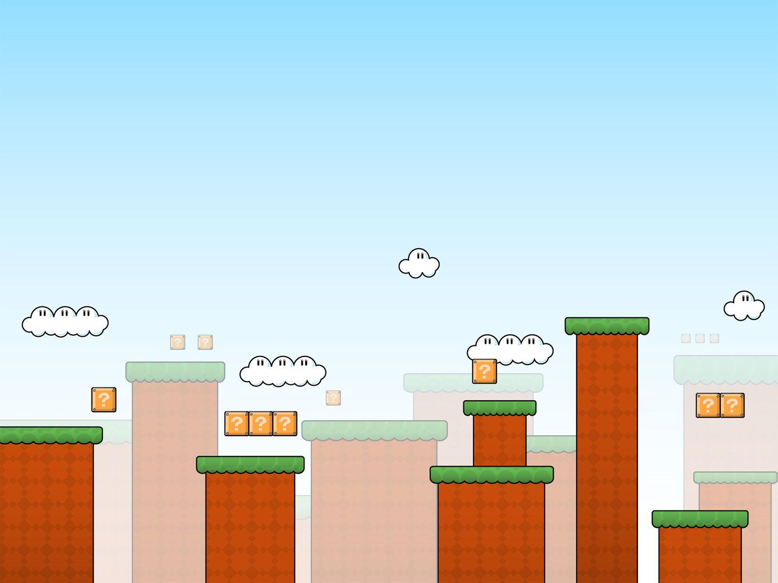 Perfekt Super Mario Scenery
