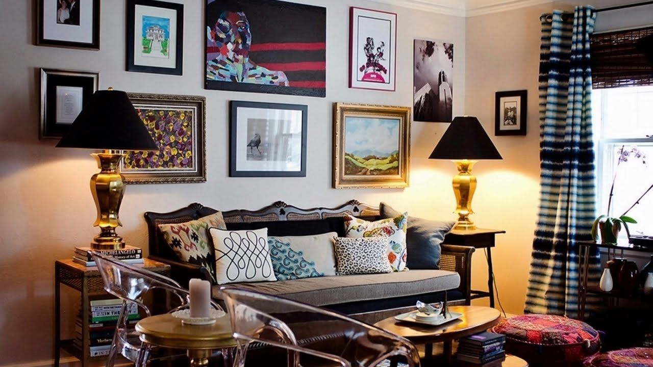 36 Charming Living Room Ideas: Charming Eclectic Interior Design Ideas