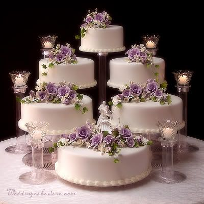 6 Tier Cascading Wedding Cake Stand Stands 6 Tier Candle Stand Set Cheese