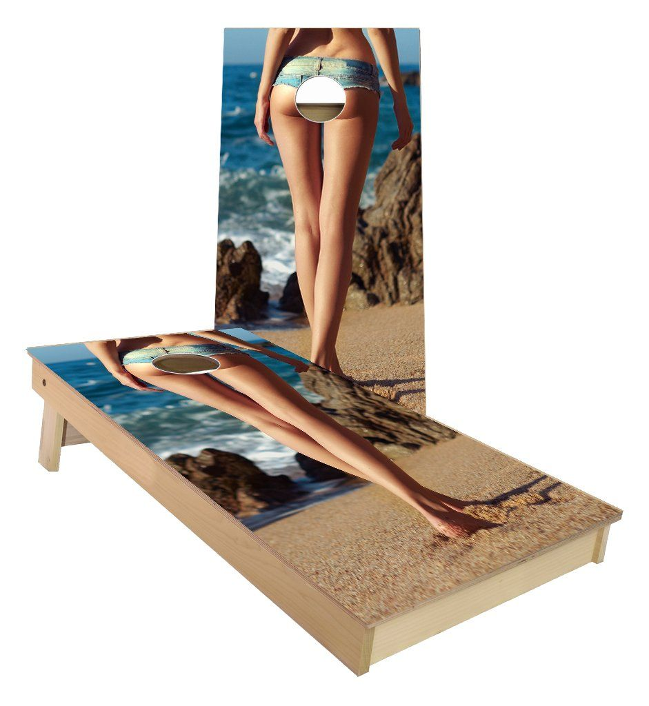 Hello Sailor Pin Up Girl Cornhole Boards