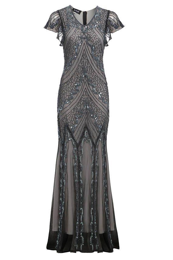Blenden Sie bei Ihrer nächsten Abend tun in der Ellen-Maxi-Kleid ...