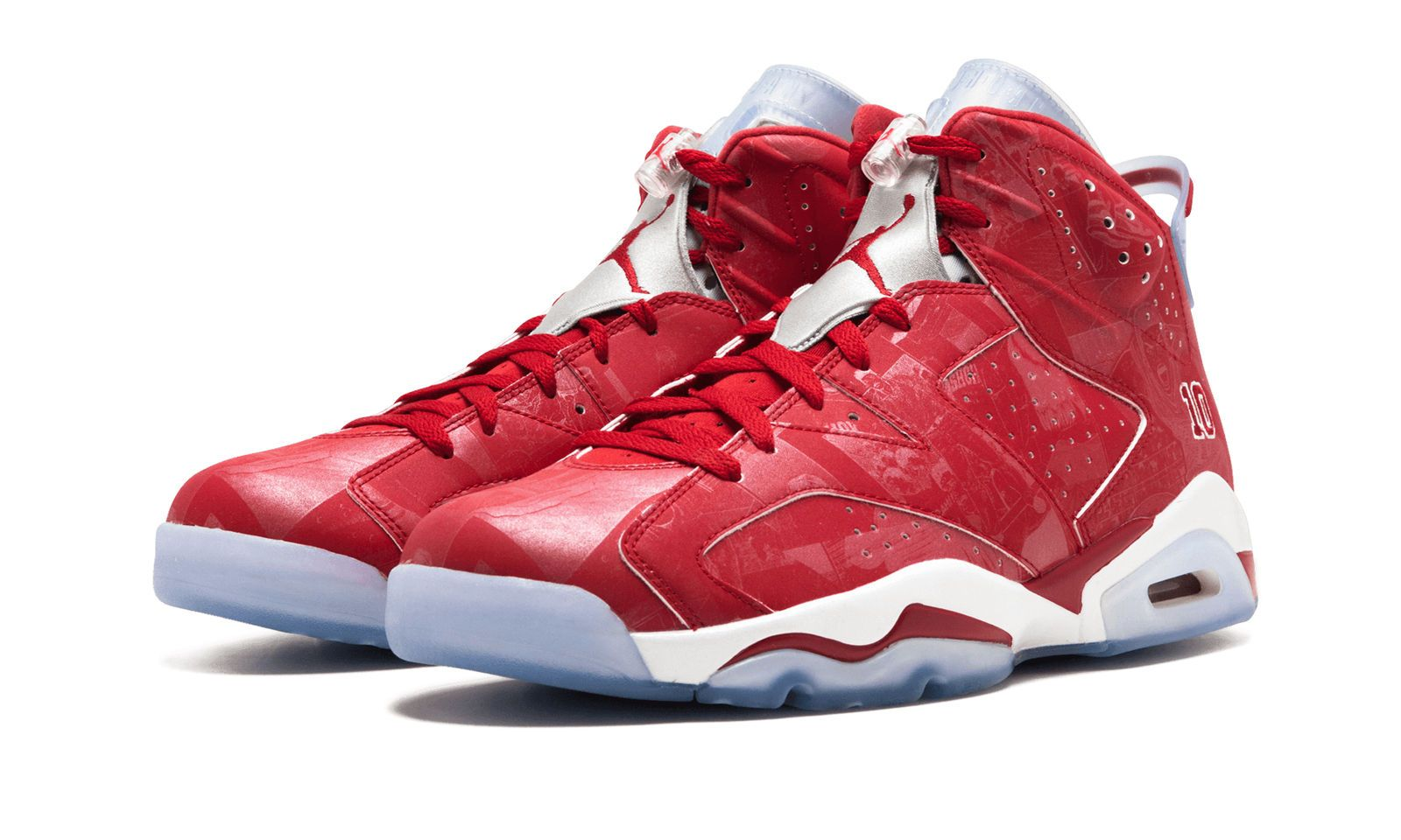 447a83300ce2f2 Details about Air Jordan 6 Retro VI X Slam Dunk Size 8.5 Varsity Red ...