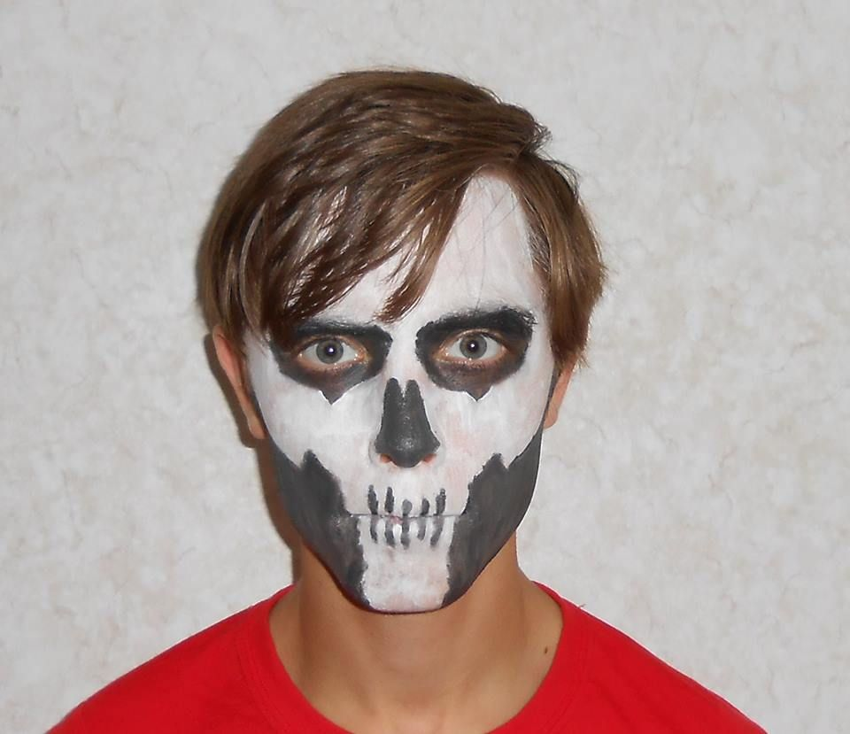 Metal Gear Solid 3 Snake Eater Zombie Face Camo. Halloween Face ...