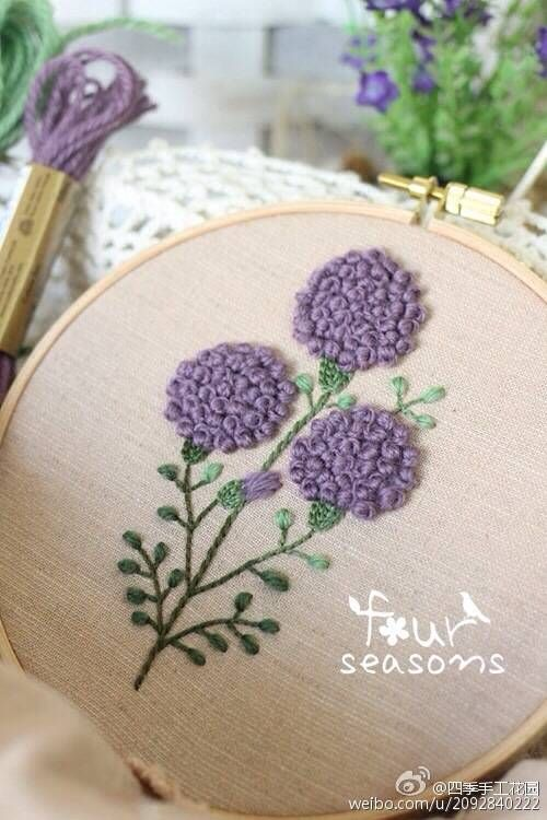 embroidery - flowers | Hand Embroidery | Embroidery ...