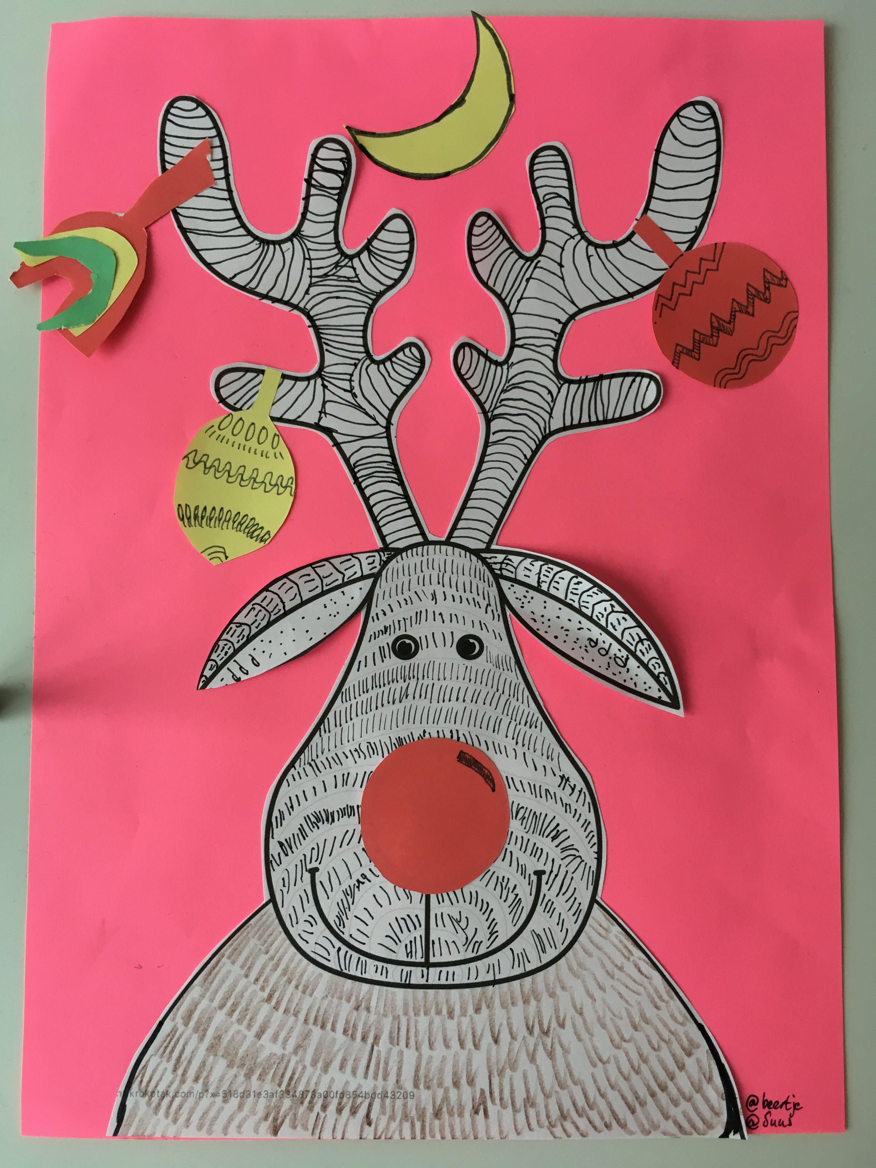 Rudolf Het Gekke Rendier Rendier Kerst