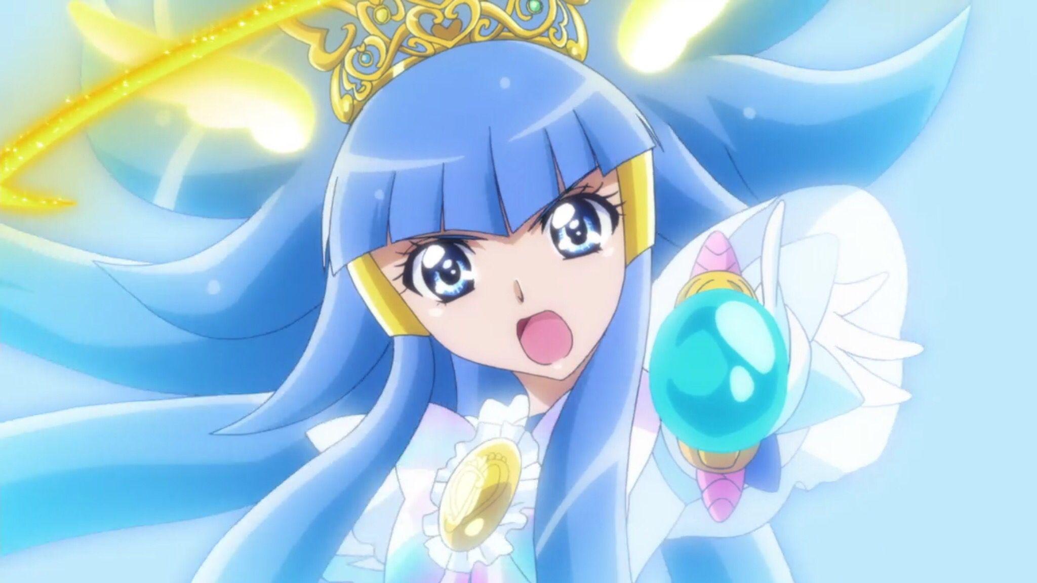 Princess Glitter Freeze Glitter force, Glitter force