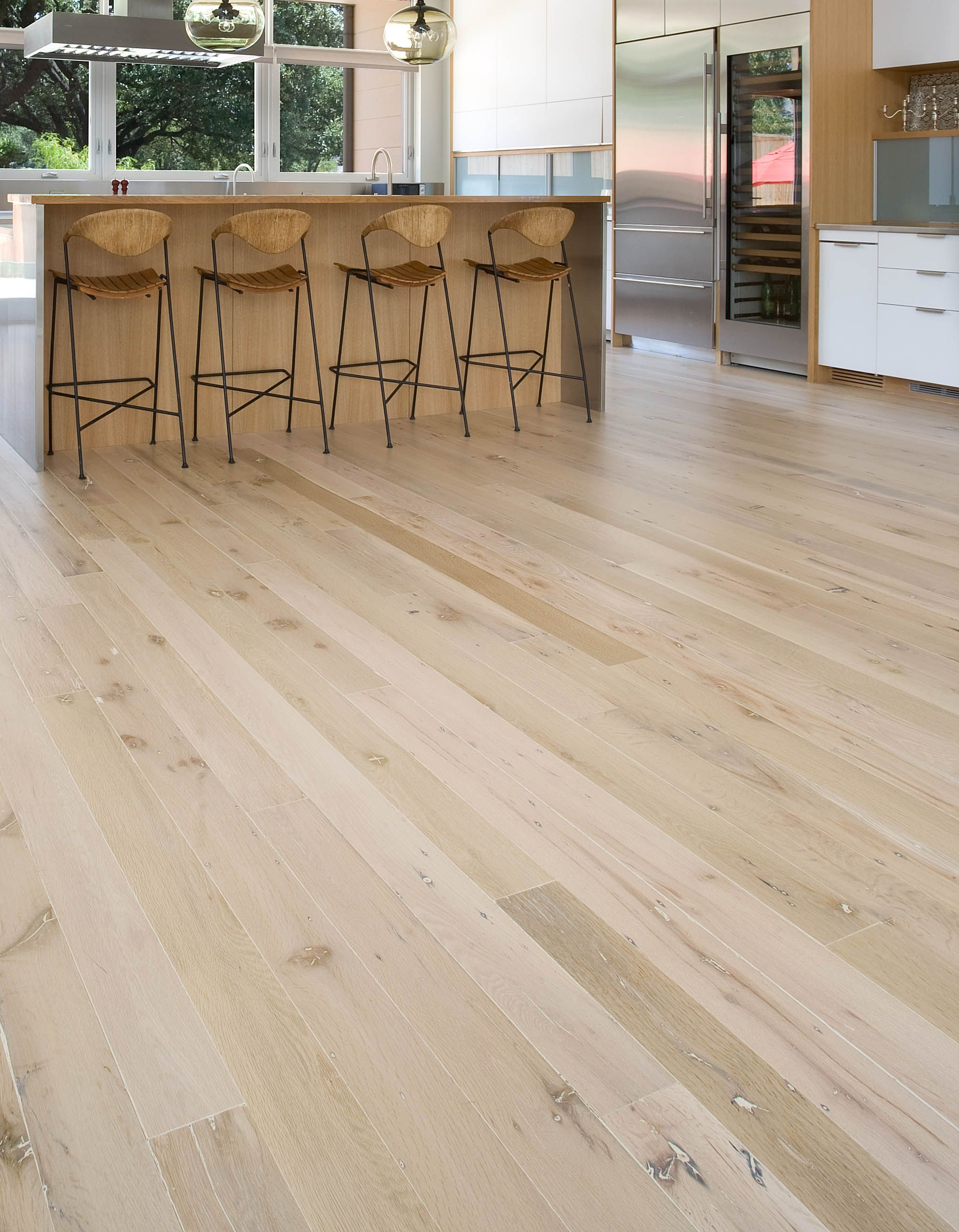 White Oak Wood Flooring From Reclaimed Timber (With images