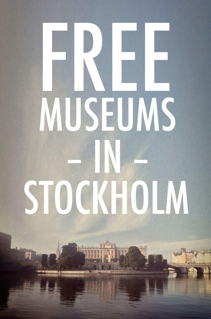 Kostenlose Museen in Stockholm - #kostenlose #Museen #stockholm