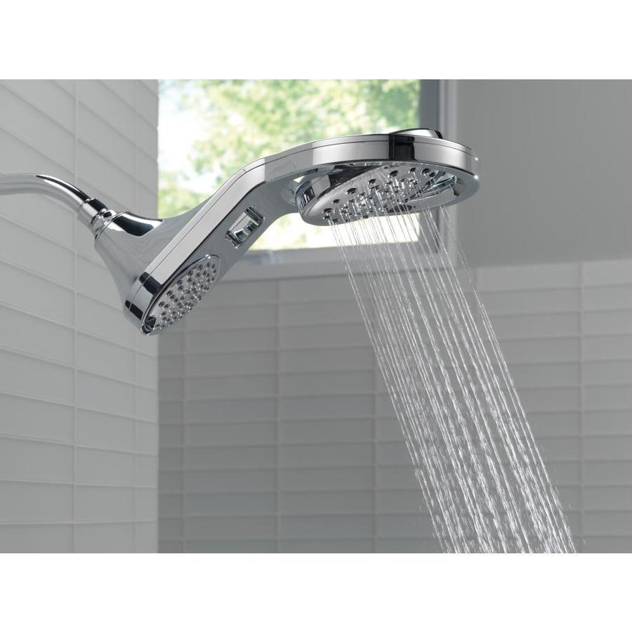 Delta Hydrorain Chrome 5 Spray Rain Shower Head Rain Shower Head