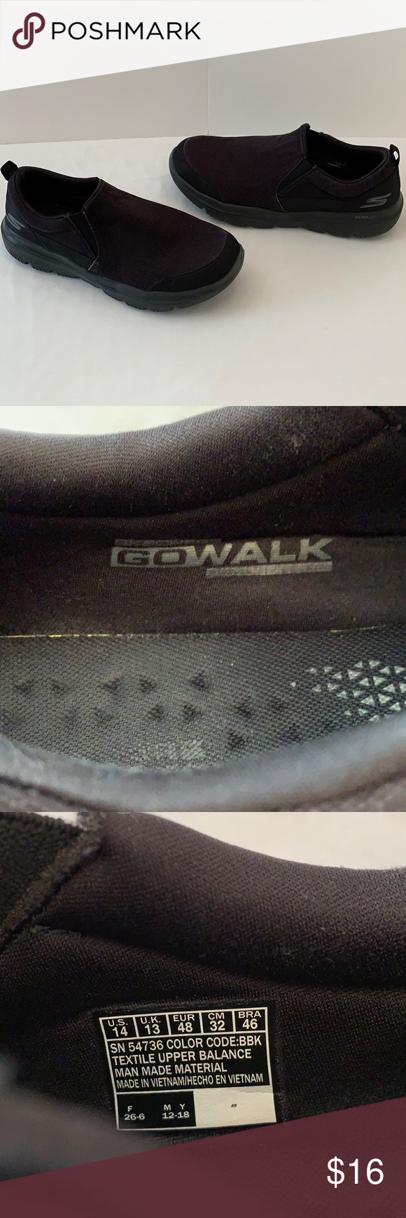 Skechers Go Walk Ultra Go Slip ons