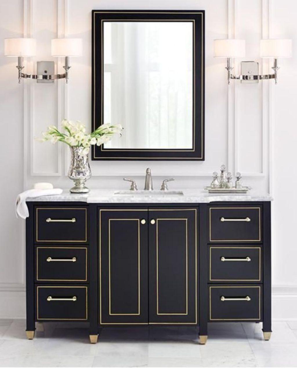 44 Classy Black Bathroom Cabinets Black Vanity Bathroom Black Cabinets Bathroom Black Bathroom