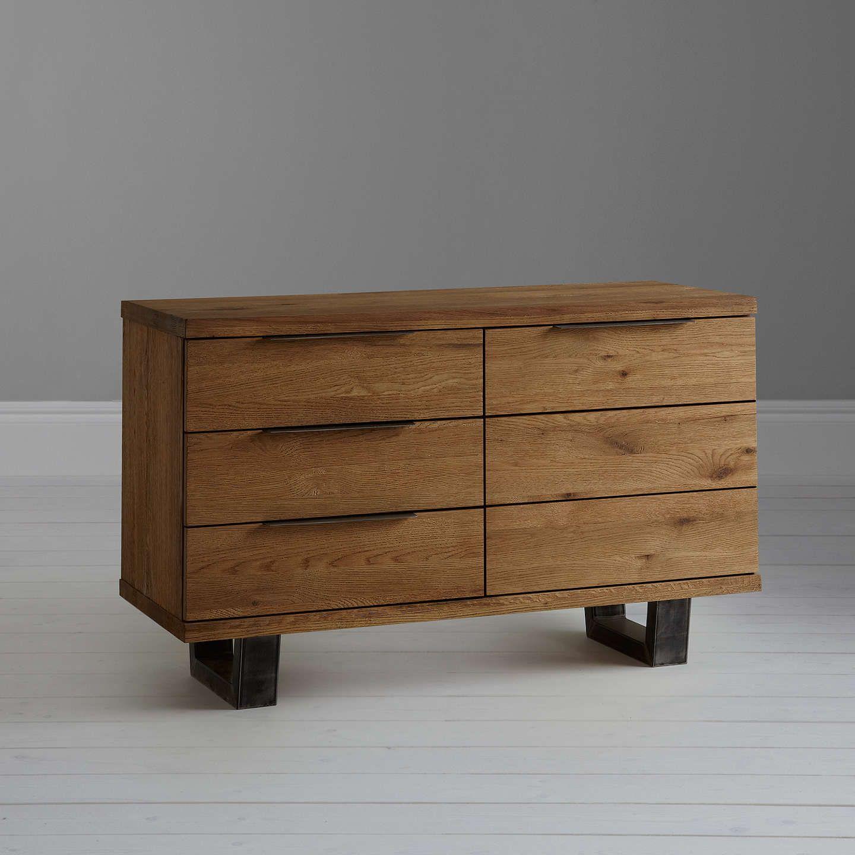 John Lewis & Partners Calia Side Table, Dark | Table, Wood