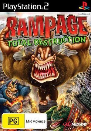 Rampage Total Destruction Rampage Total Destruction Gamecube Games Rampage Game