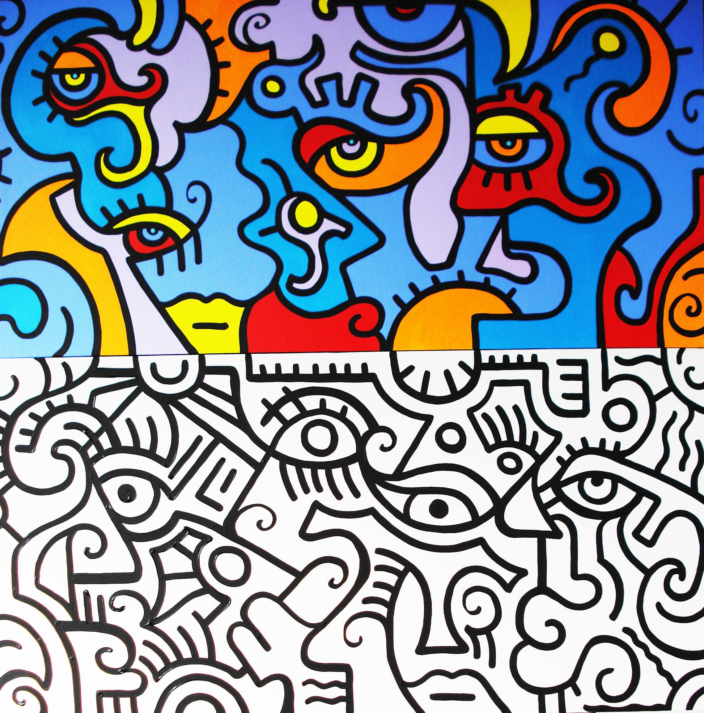 Beau Dessin à Colorier Keith Haring