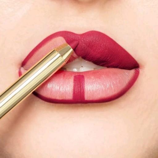 Photo of Makeup lábios vermelhos