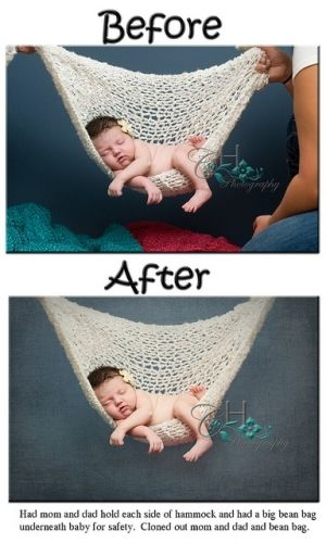 Newborn boy photography props baby photo and tons of other behind the scene newborn photography