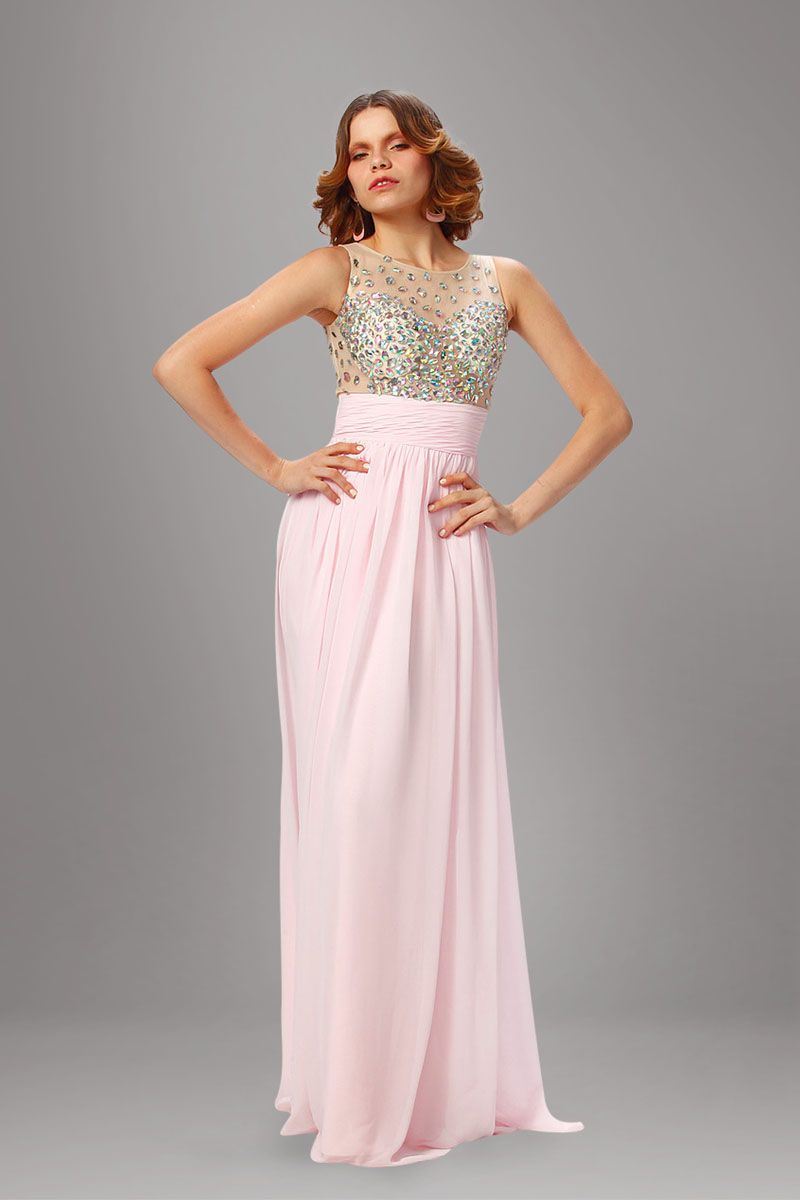 Two-Color Prom Dress