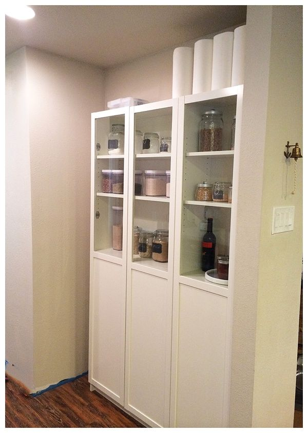 Best Easy Diy Freestanding Pantry With Doors From A Billy 640 x 480