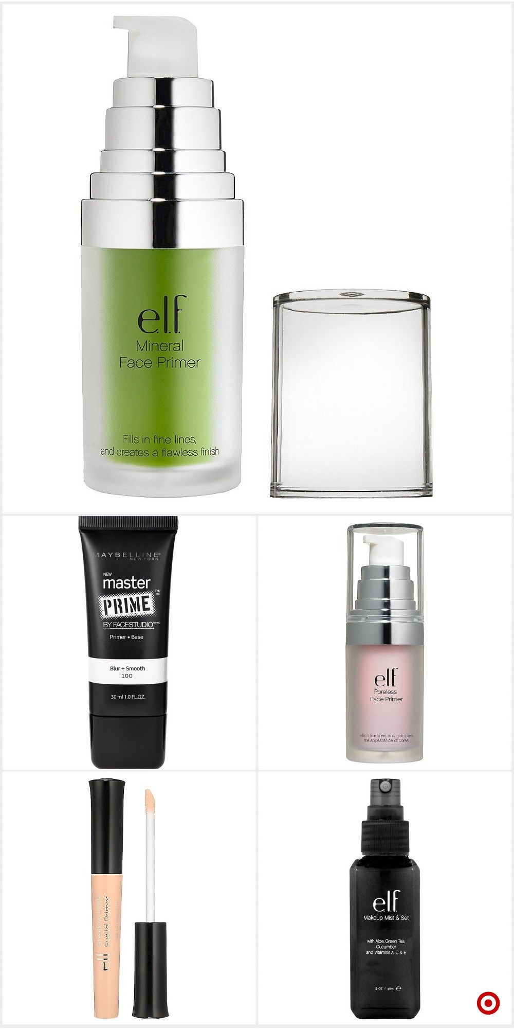 Shop Target for makeup setters and primers you will love