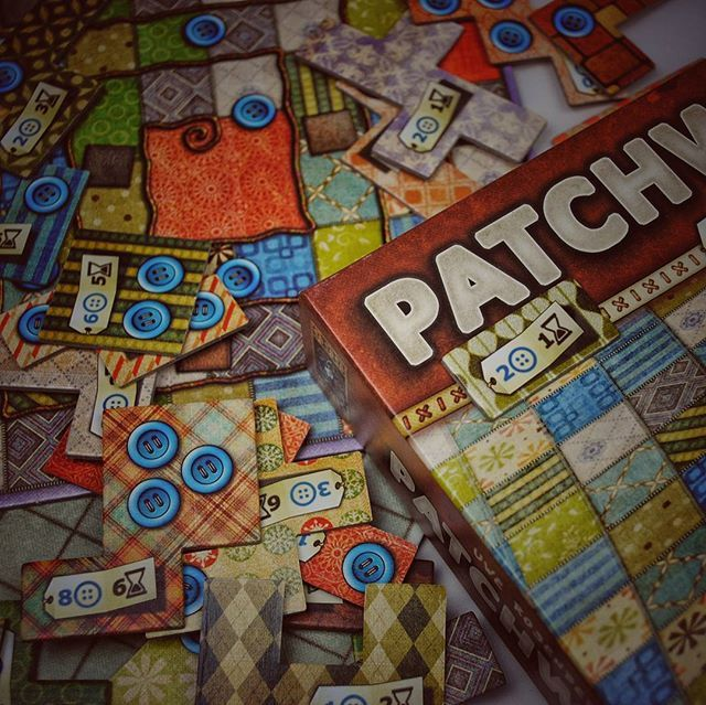 patchwork a great couple game one of my favorite 2 player games i really should do a 2 player. Black Bedroom Furniture Sets. Home Design Ideas