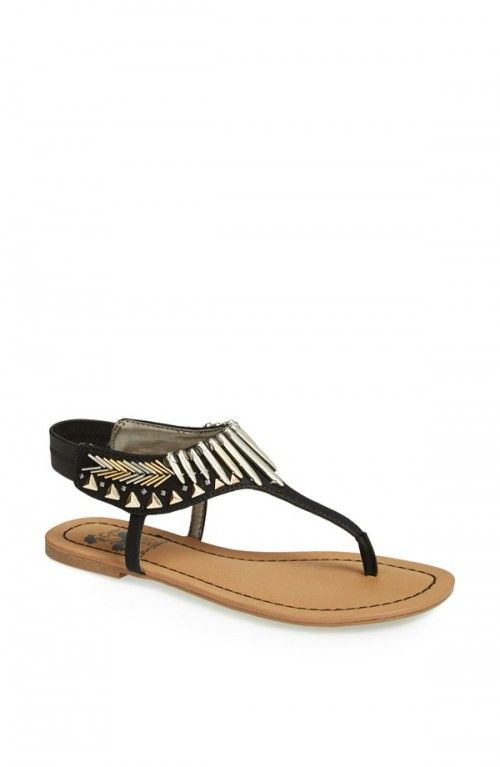 Circus by Sam Edelman Brina Sandals Black 9 | Shoes and Footwear