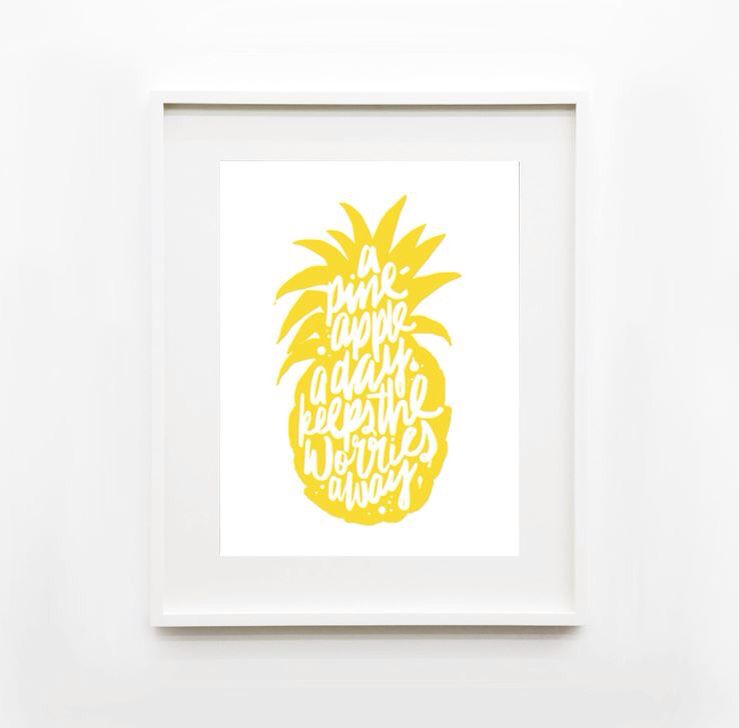 A pineapple a day |