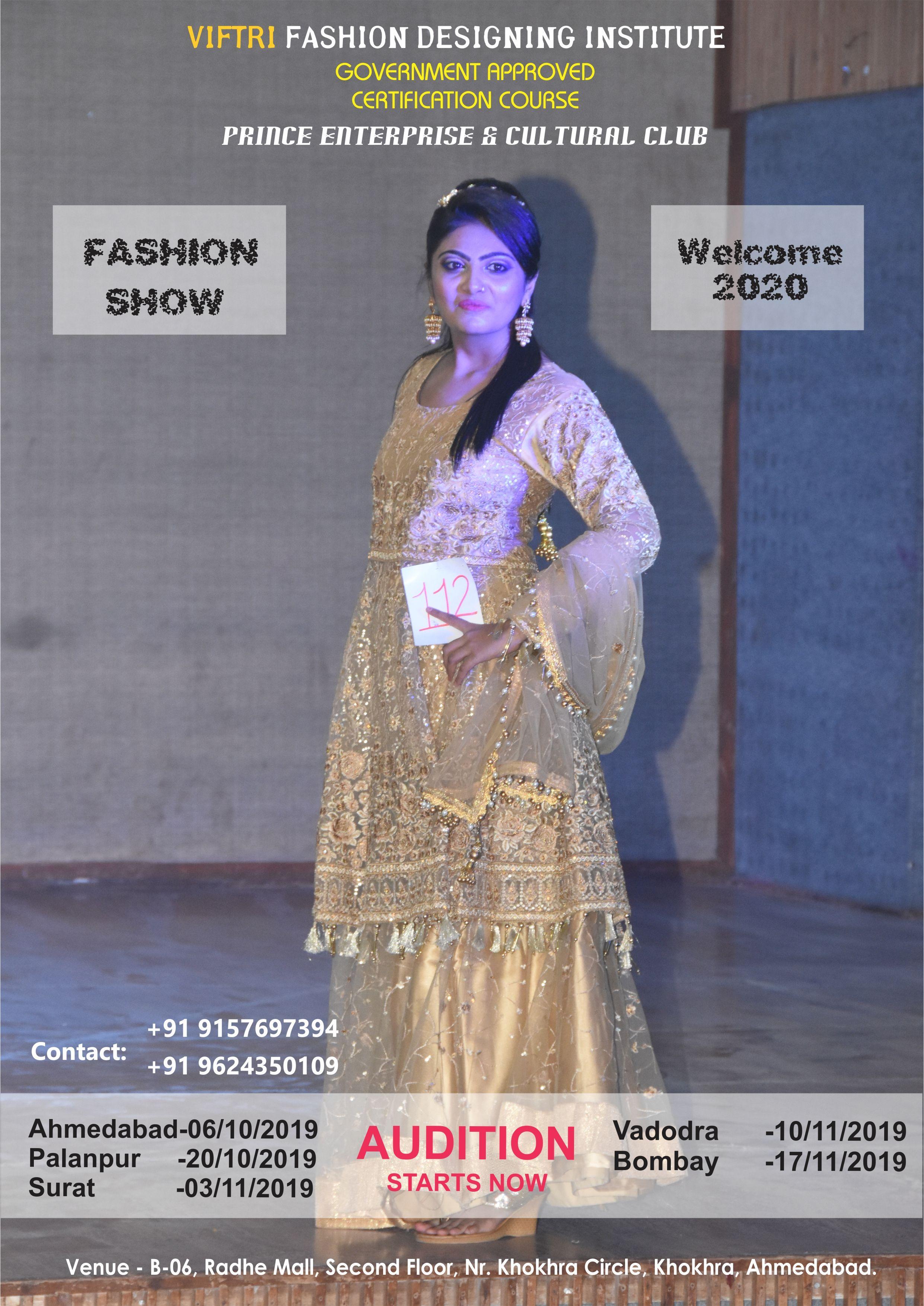 Prince Cultural Club Viftri Fashion Designing Institute Present S Fashion Show 2019 Multi Fashion Designing Institute Fashion Design Formal Dresses Long