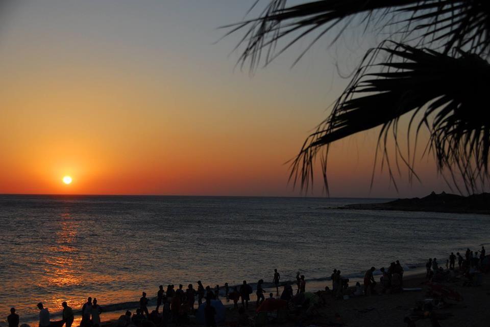 Atardecer En Sajorami Beach Playa De Zahora Canos De Meca Cadiz
