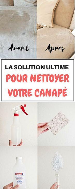 J ai toujours ador nettoyer ma maison mais apparemment je - Nettoyer canape tissu bicarbonate de soude ...