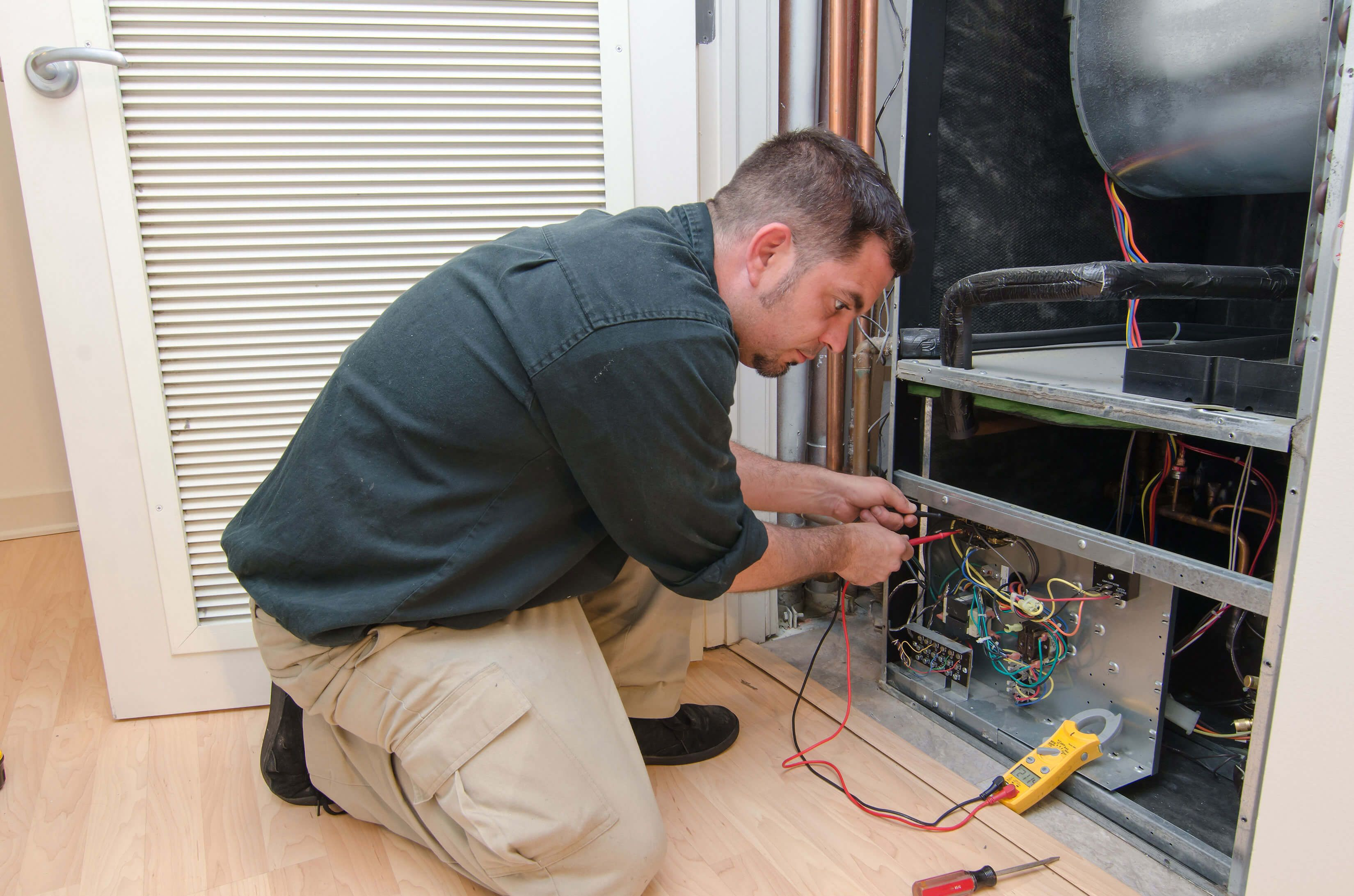 Single post Heating and air conditioning, Heating repair