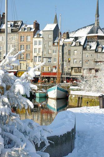 Honfleur 287 Normandy France Winter Normandy France