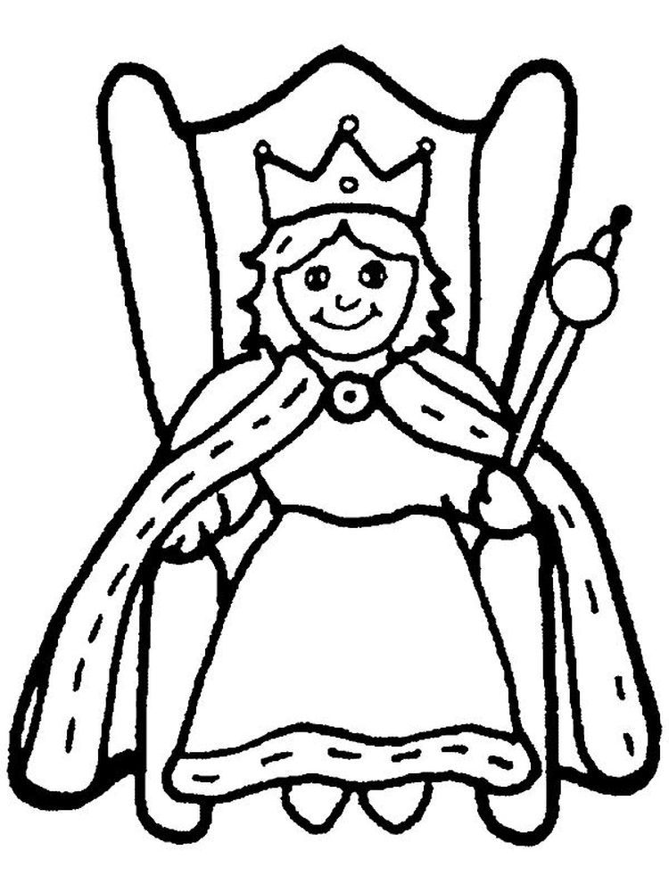 33++ Queen elsa coloring pages free inspirations