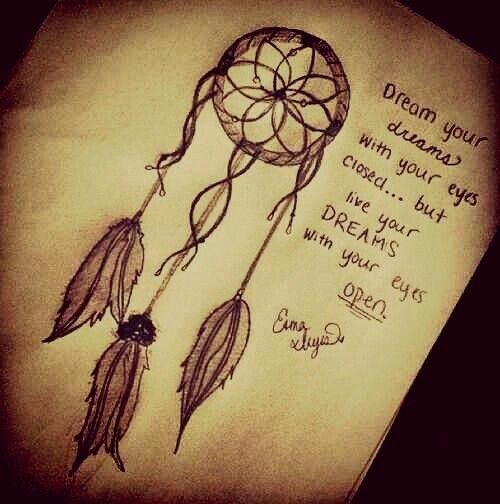 Tattoo Quotes Dreams: Best 25+ Dream Catcher Drawing Ideas On Pinterest