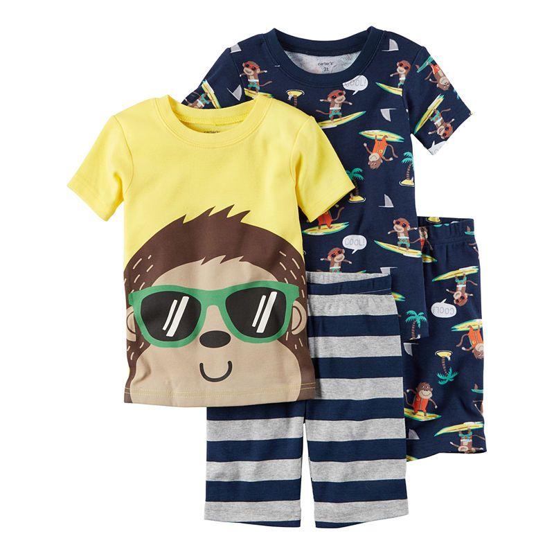 d010be06a Carter s 4-pc. Pajama Set Boys