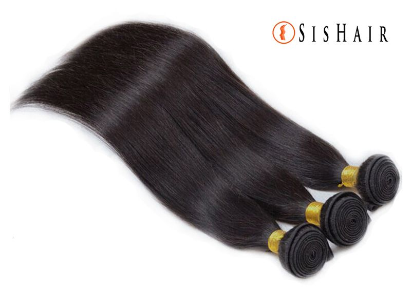 5A Brazilian Virgin Hair Silky Straight Wavy. 100% virgin human hair  It can be dyed and bleached.