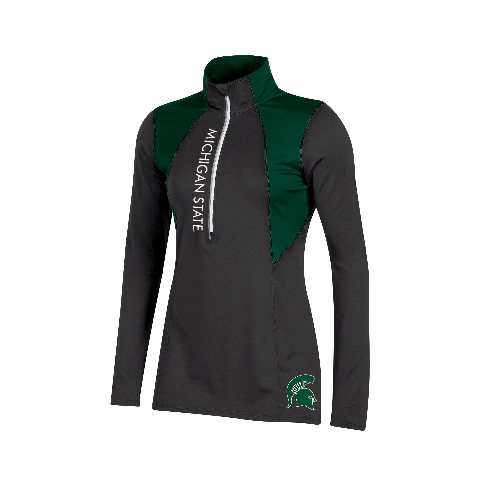 Michigan State Spartans Women's Long Sleeve 1/2 Zip