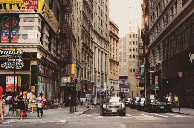 NY streets..