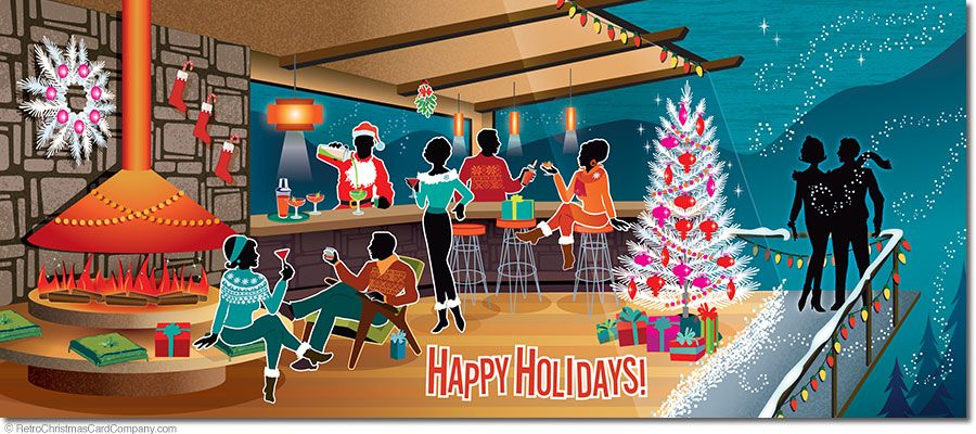 Holiday Cocktails Christmas Cards Fun Holiday Cocktails Christmas