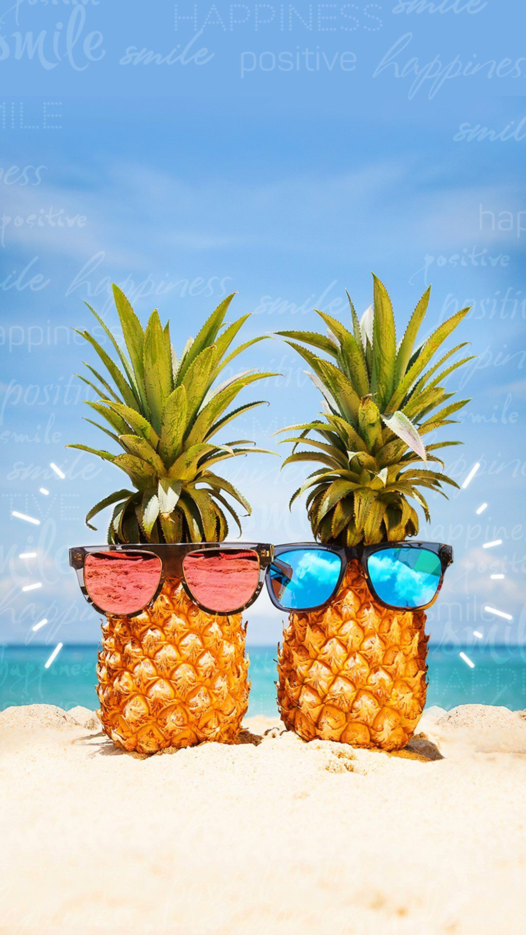 beachplease Pineapple wallpaper, Funny iphone wallpaper