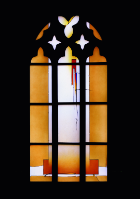 Peterskirche Heidelberg Johannes Schreiter Stained Glass