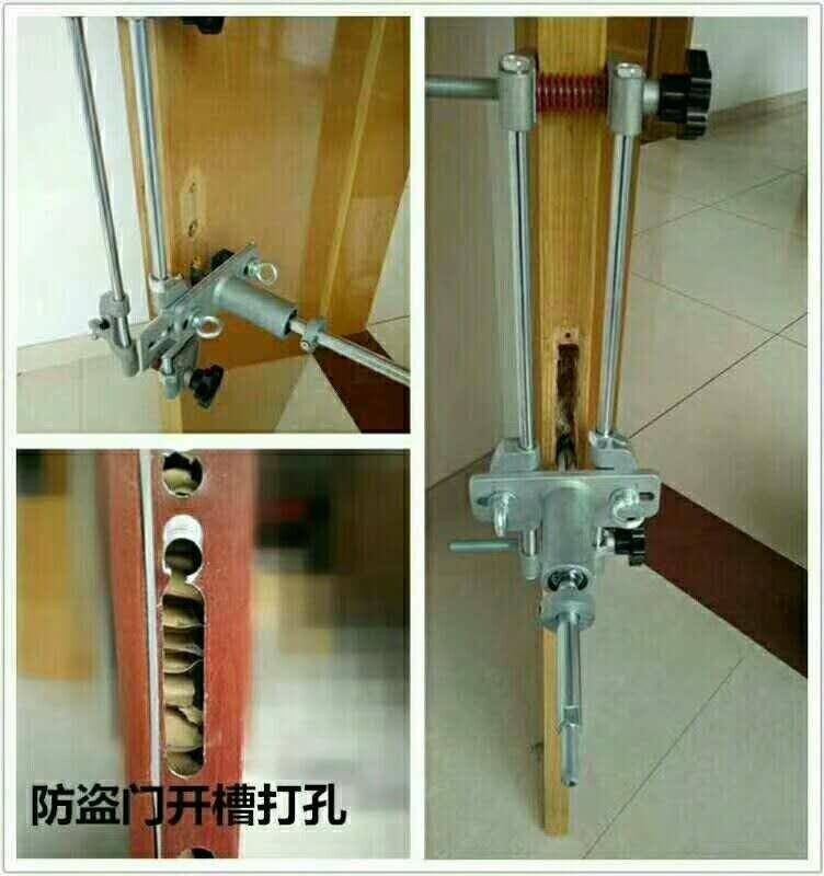 Locksmith Woodworking Mortice Door Lock Mortiser Kit Hole Saw Opener Installation Mortising Jig Tool Hole Op House System Woodworking Tool Kit Woodworking Kits