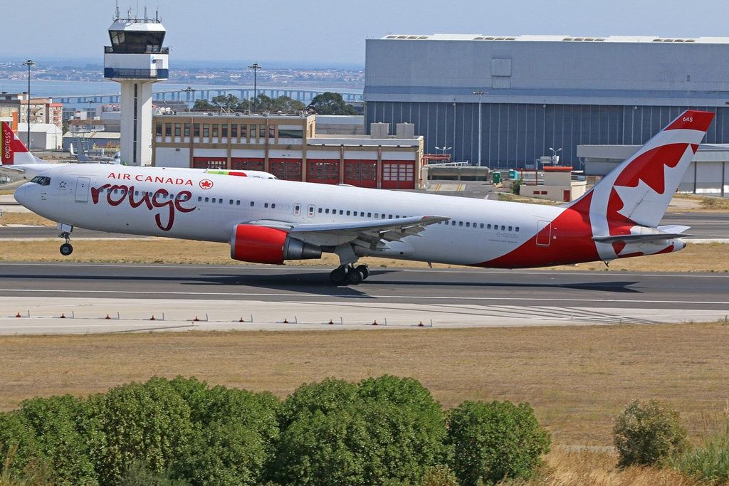Air Canada Rouge Fleet Boeing 767 300er Details And Pictures Air