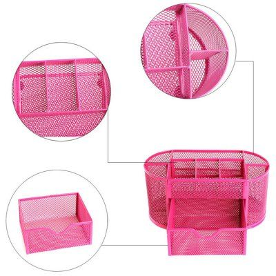 9-compartment Metal Wire Mesh Pen Holder #jewelry, #women, #men, #hats, #watches