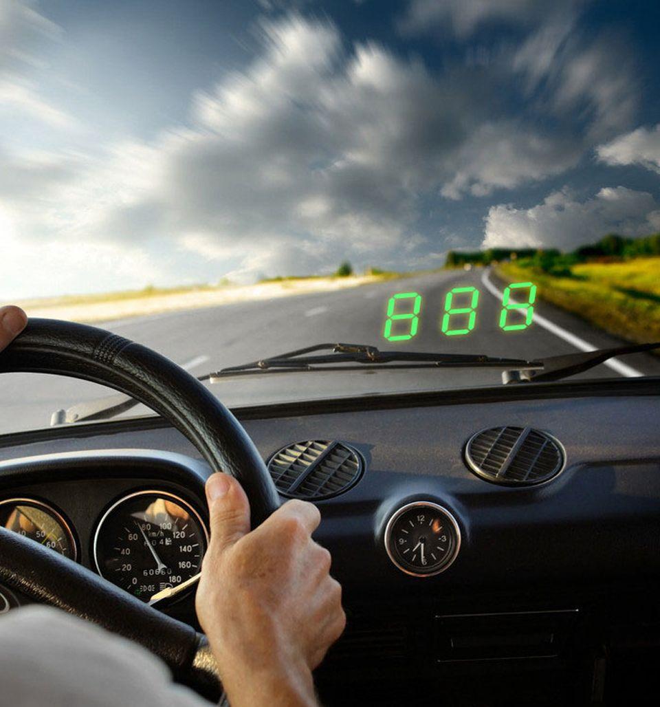 Best Hud For Car >> Best C60 Universal Car Hud Gps Speedometer Head Up Display