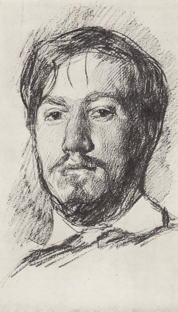 Valentin Serov Self Portrait Risovanie Portretov Avtoportrety