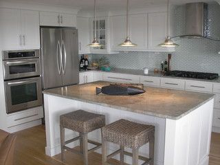Chatham Residential-clean look cabinets with molding