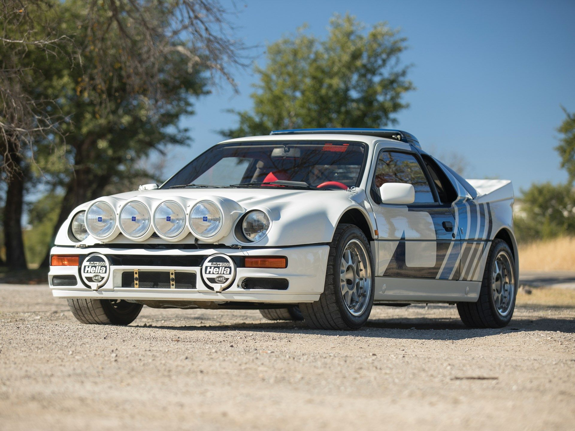 1986 Ford Rs200 Evolution Ford Rs Rally Car Ford