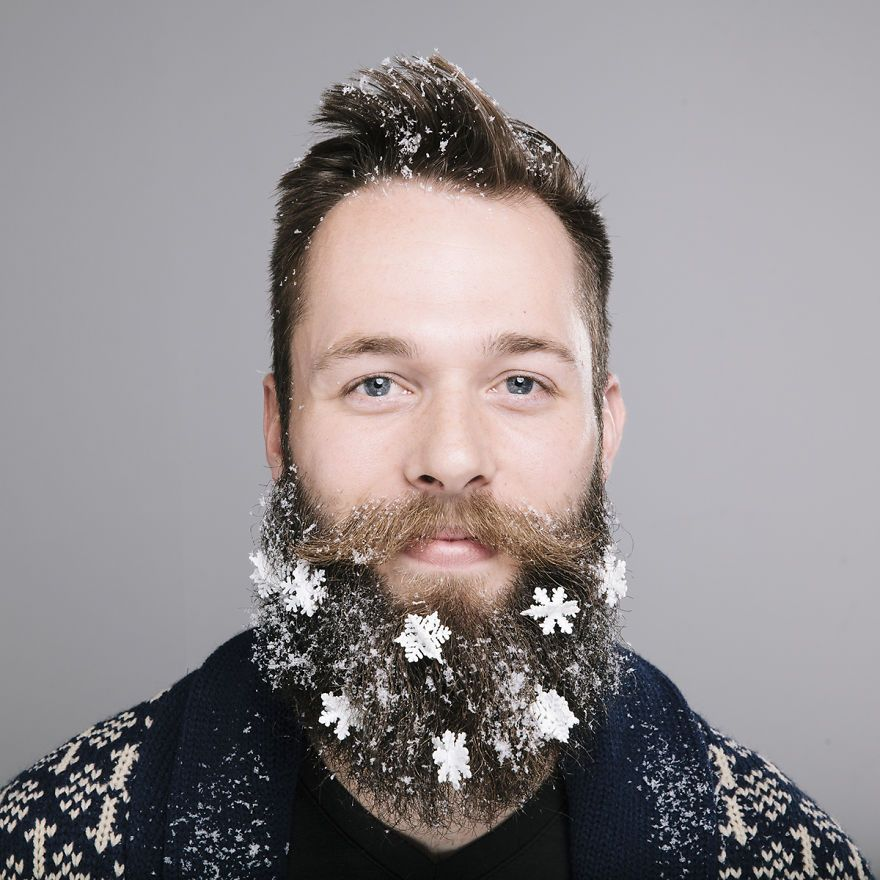 The Twelve Beards Of Christmas Flower Beard And Beard Styles - Mr incredibeard really coolest beard ever seen