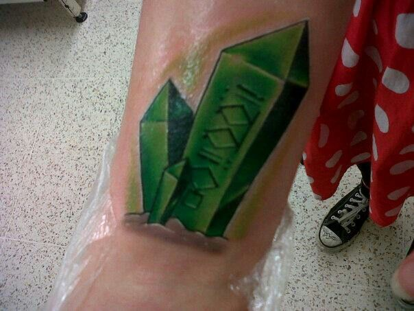 My Kryptonite Tattoo With Harry In Ktyptonian Tattoos